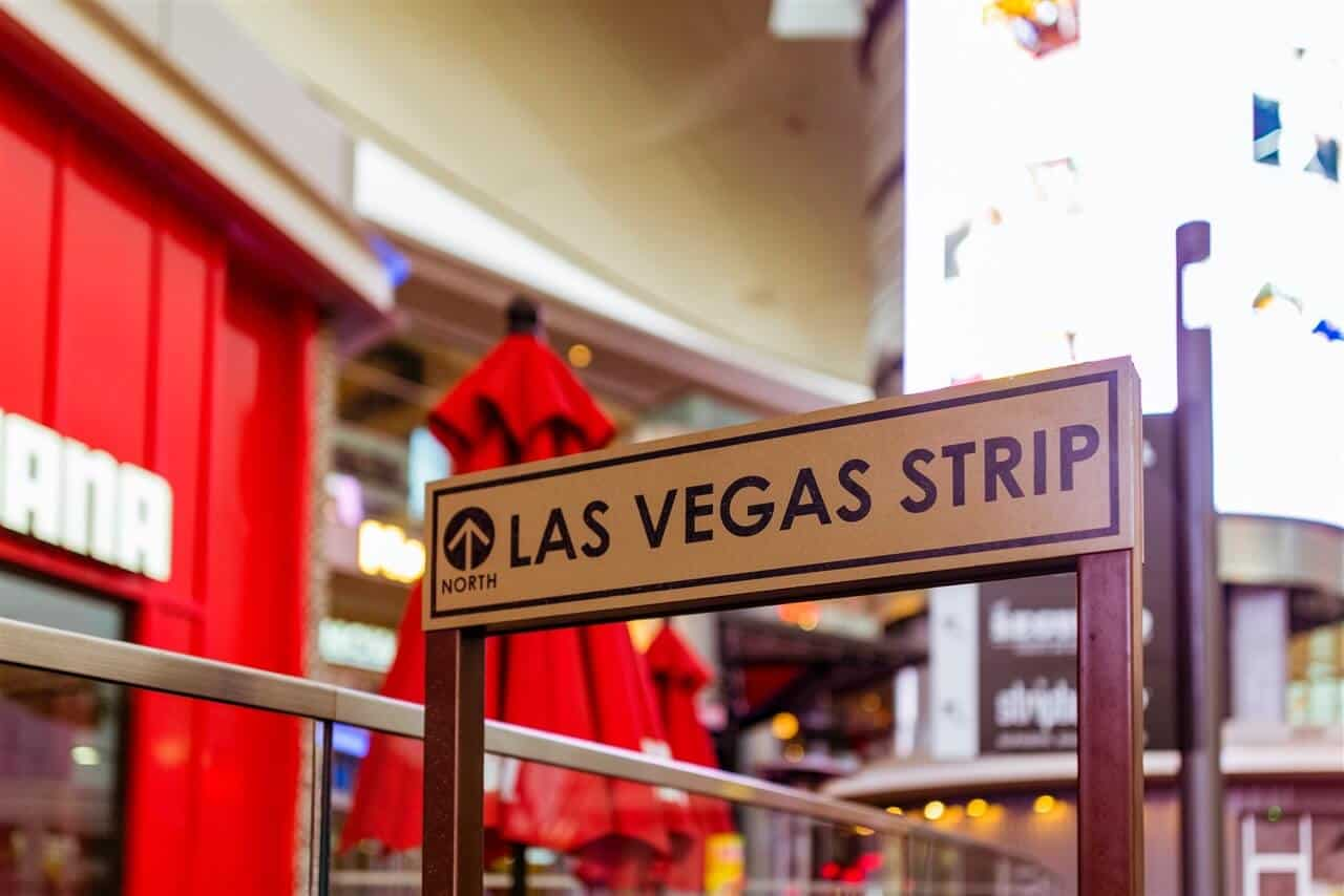 Vegas strip sign